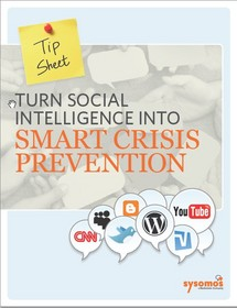 Turning Social Intelligence into Smart Crisis Prevention.""