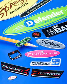 Nameplates For Industry Domed Labels