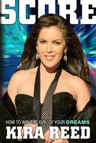 Kira Reed on the cover of SCORE, the book.
