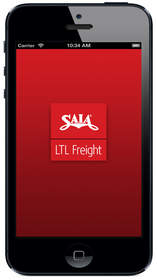 The Saia LTL Freight app offers users a variety of tracking, scheduling and viewing options.