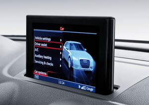 Audi A3 auto-infotainment system powered by NVIDIA Tegra VCM