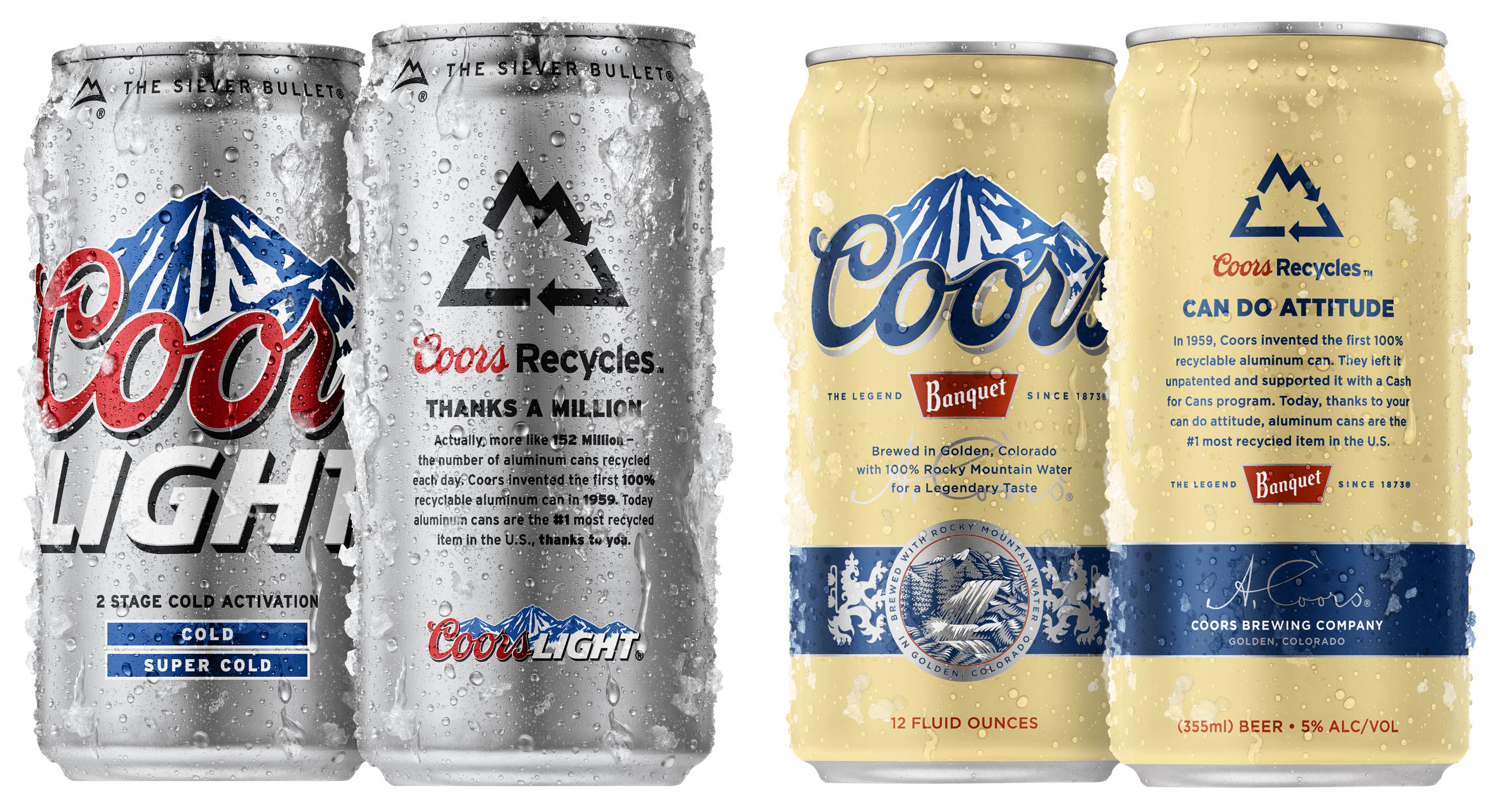 Coors Recycles Cans