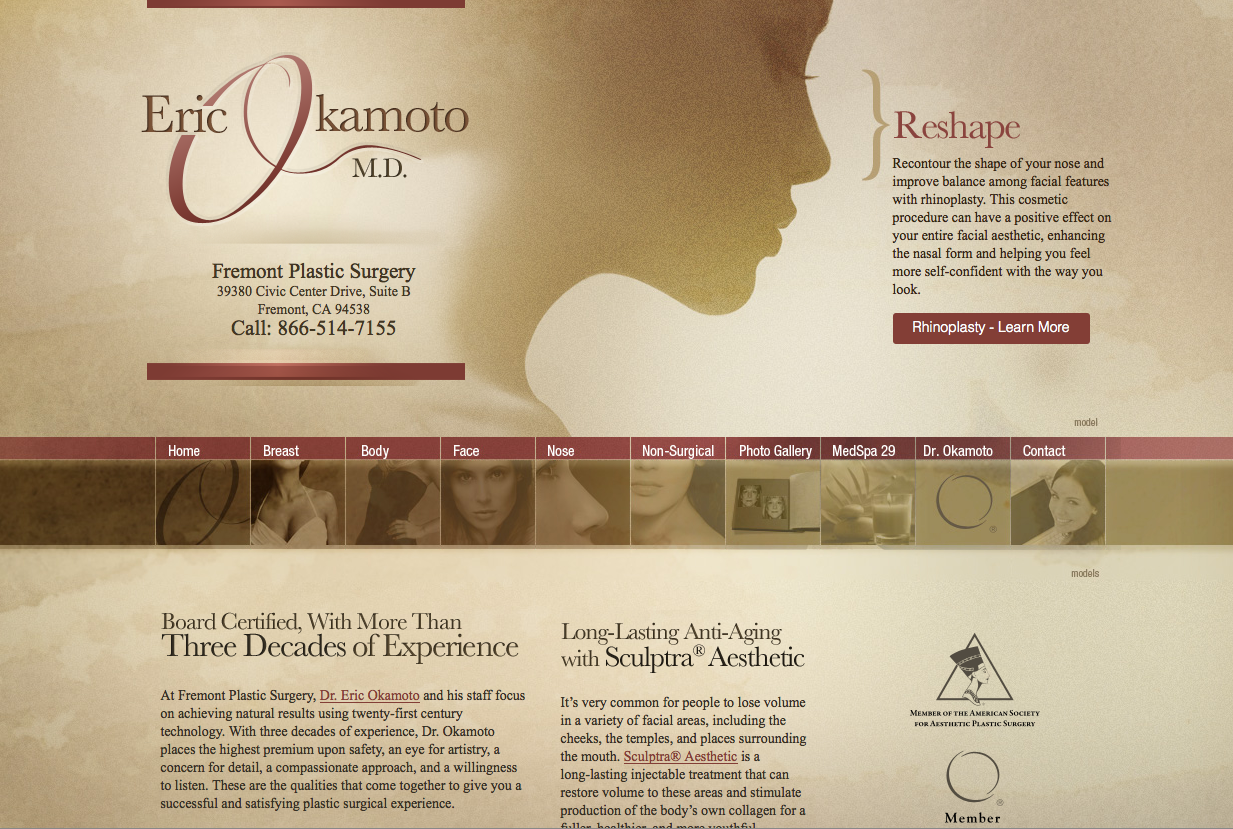 dr eric okamoto,plastic surgeon in east bay,plastic surgeon in fremont