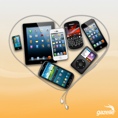 Does your phone say a lot about your love life?