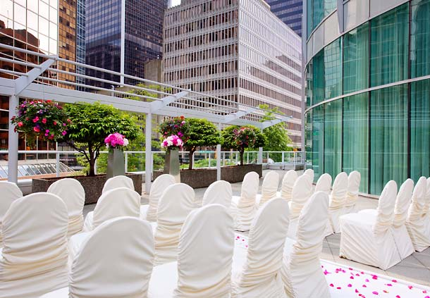 Wedding Receptions In Downtown Vancouver