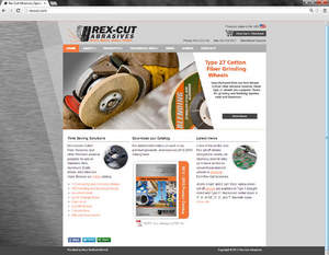 Rex-Cut Abrasives Website