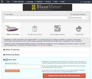 BlazeMeter's Integration with New Relic