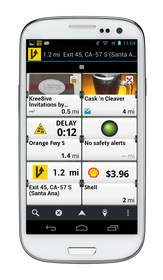 Magellan SmartGPS App for Android mobile devices