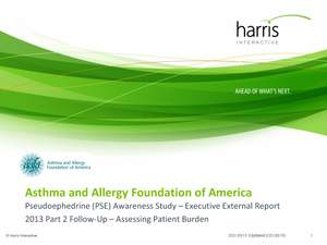 AAFA, Asthma and Allergy Foundation, Healthcare, Survey, Poll, Harris Interactive, nasal allergies