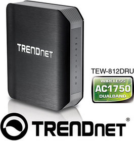 AC1750 Dual Band Wireless Router, Model TEW-812DRU