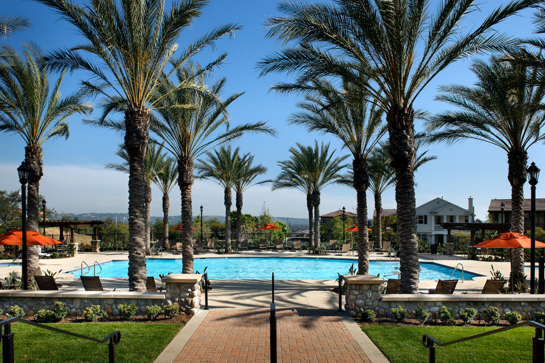 rosedale, private recreation, la new homes, san gabriel valley homes