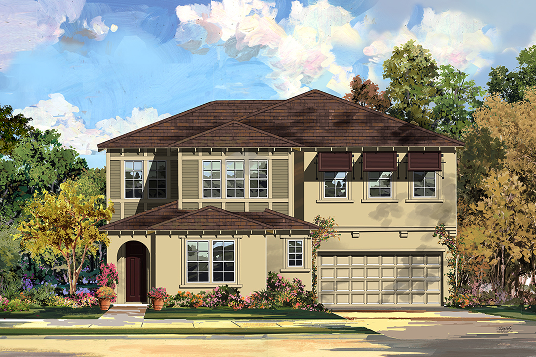 wisteria, azusa new homes, rosedale, azusa ca,