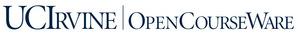 UC Irvine OpenCourseWare