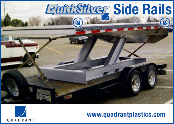 QuickSilver Truck Side Rail by Quadrant Engineering Plastic Products