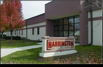 Food Grade Hoist - contact Harrington Hoist