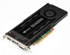 NVIDIA Quadro K4000 professional graphics