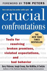 The New York Times best-seller 'Crucial Confrontations'