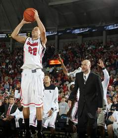 Ole Miss junior guard Marshall Henderson
