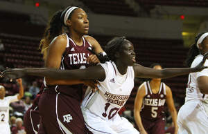 Mississippi State sophomore center Martha Alwal