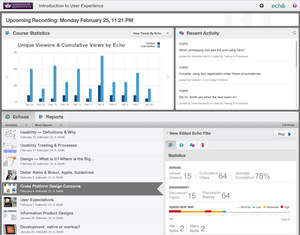 Echo360 Active Learning: Student Analytics