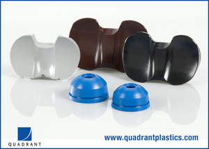 Life Science Grade biocompatible advanced polymer materials from Quadrant Engineering Plastic Products, the global leader of machinable plastics.