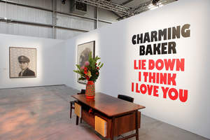 Charming Baker's 'Lie Down I Think I Love You' Exhibition Debut