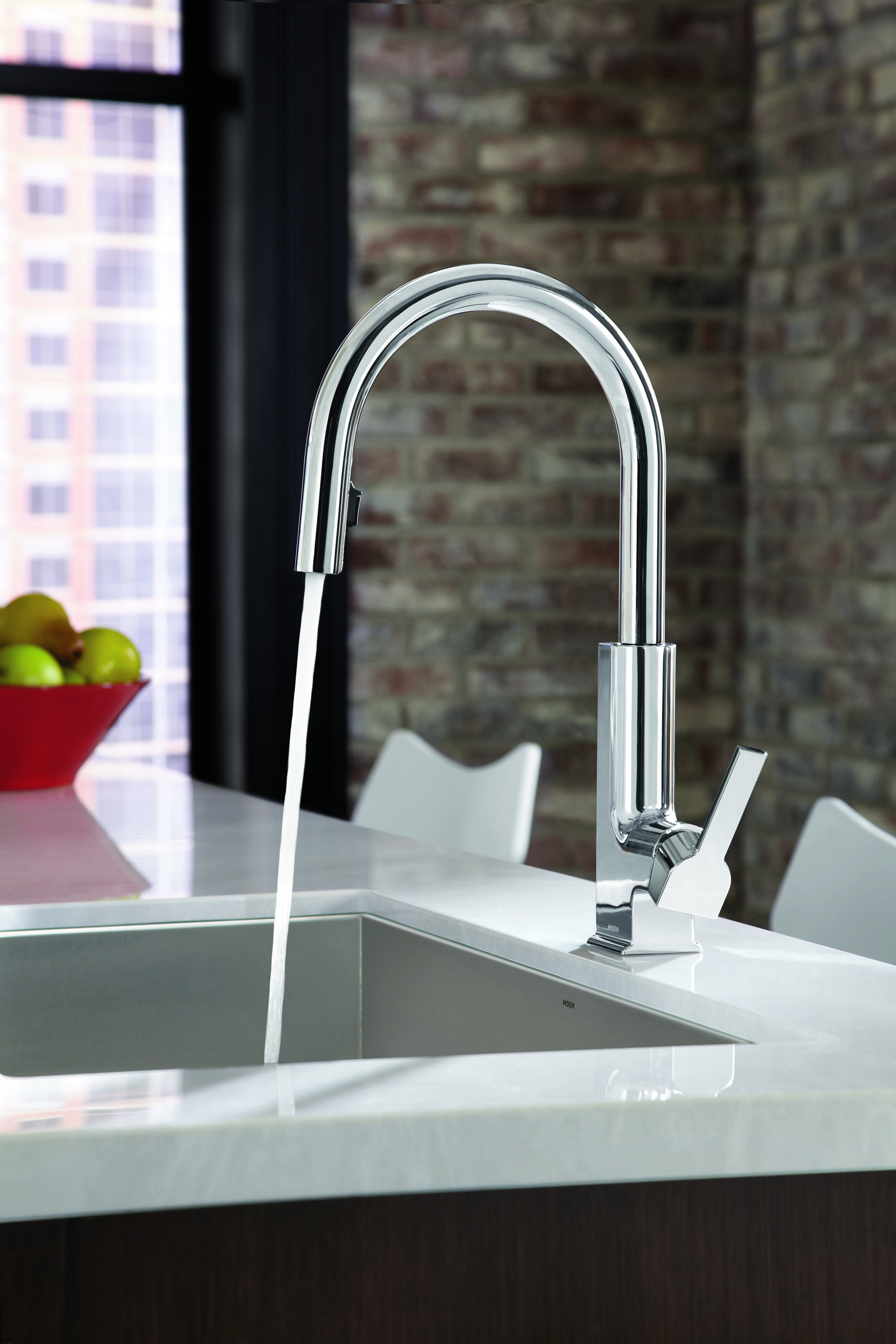 STo(TM) Kitchen Suite From Moen Features Clean, Modern Lines and ...