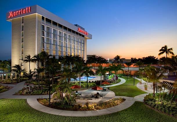 hotel en el aeropuerto de Miami