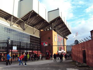 Outside image - Xirrus Wi-Fi improves the overall match-day experience and encourages fans to share the excitement with the global Liverpool fan base.