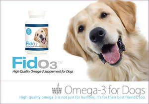 Wellness International Network presents Fido3; Omega-3 for dogs!