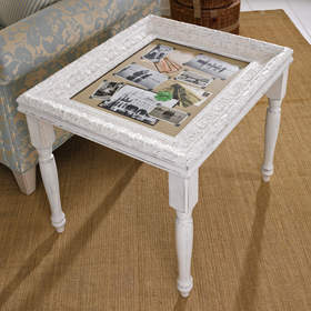 Photo Frame Accent Table