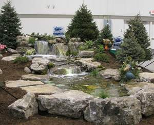 landscaping, water features, ponds, waterfalls