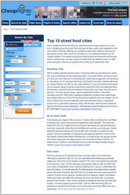 Cheapflights.ca Top 10 Street Food Cities