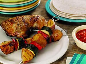 Chicken and Potato Fiesta Grill