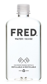 As a bold statement in the bottled water industry, today Fred Water recommended refilling the brand's water bottles again and again! As Earth Day 2013 approaches, Fred's message is clear: use the Fred bottle over and over, unapologetically!