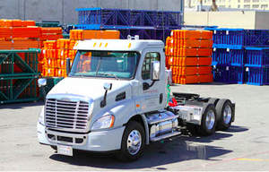 Hannibal Industries' trucks are constantly delivering the more than 100,000 tons of steel the company manufactures and ships to its customers annually.
