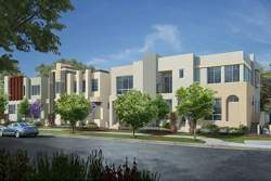 la townhomes, new la townhomes, gated townhomes, private townhomes