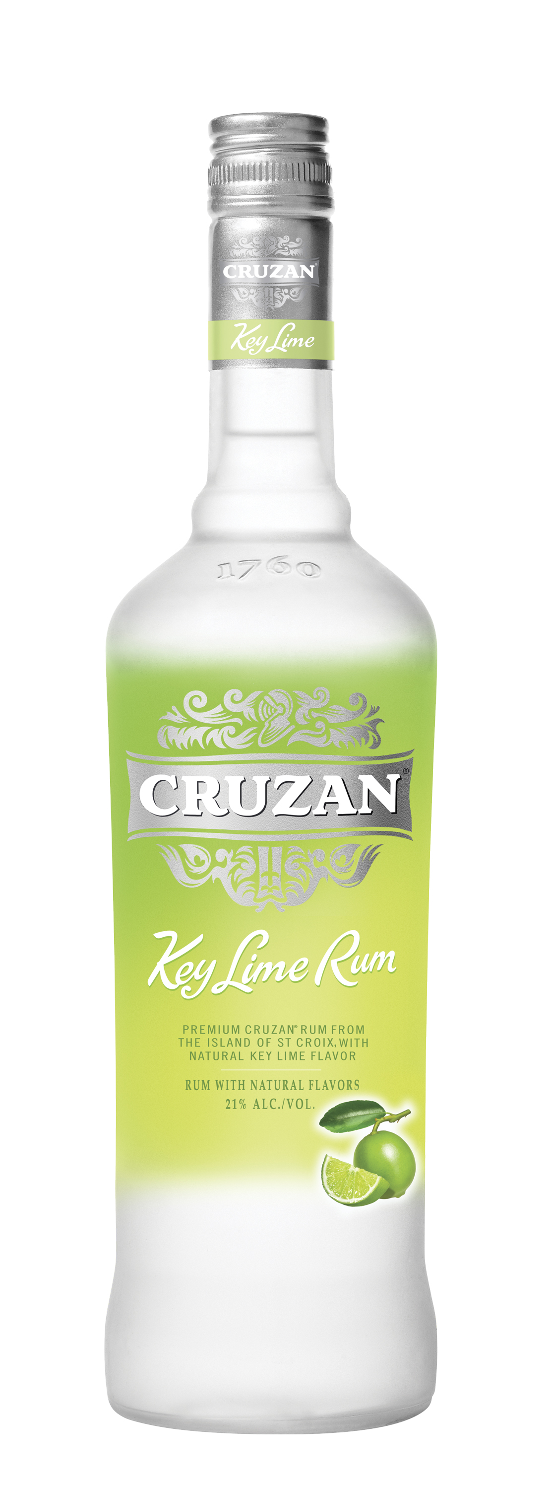 Cruzan(r) Key Lime Rum Bottle