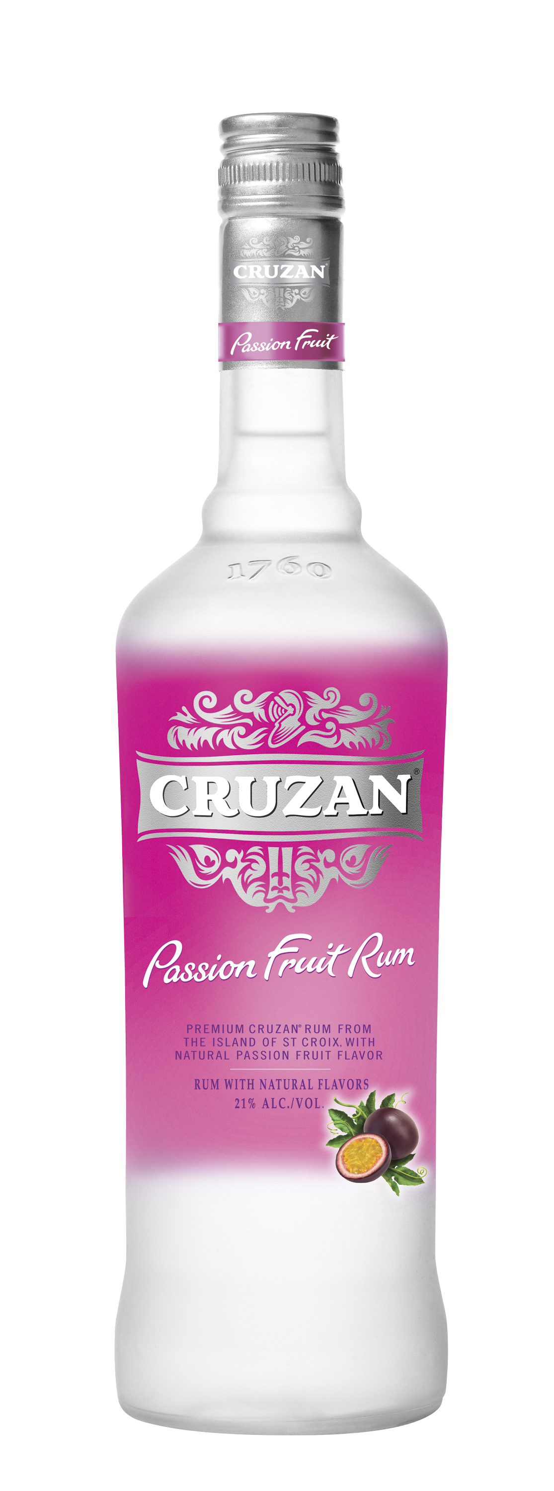 Cruzan(r) Passion Fruit Rum Bottle