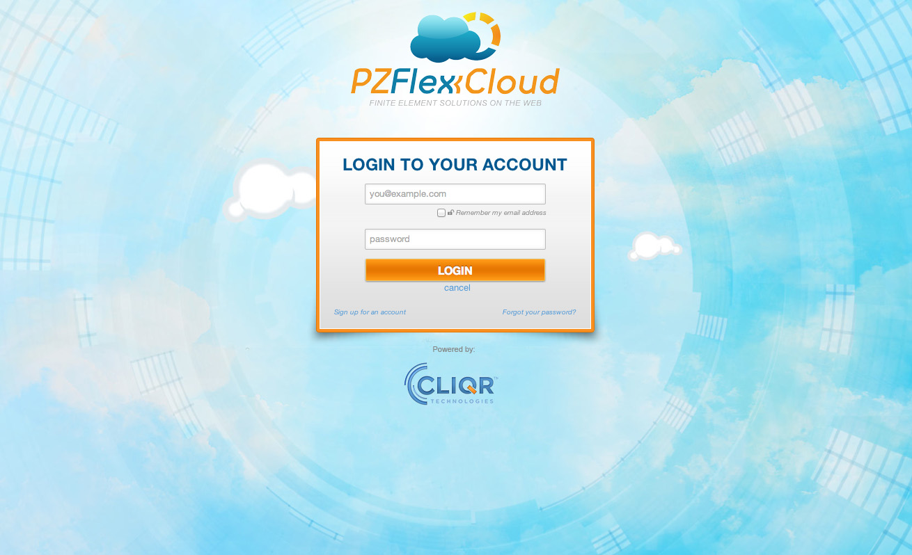 PZFlexCloud Powered by CliQr