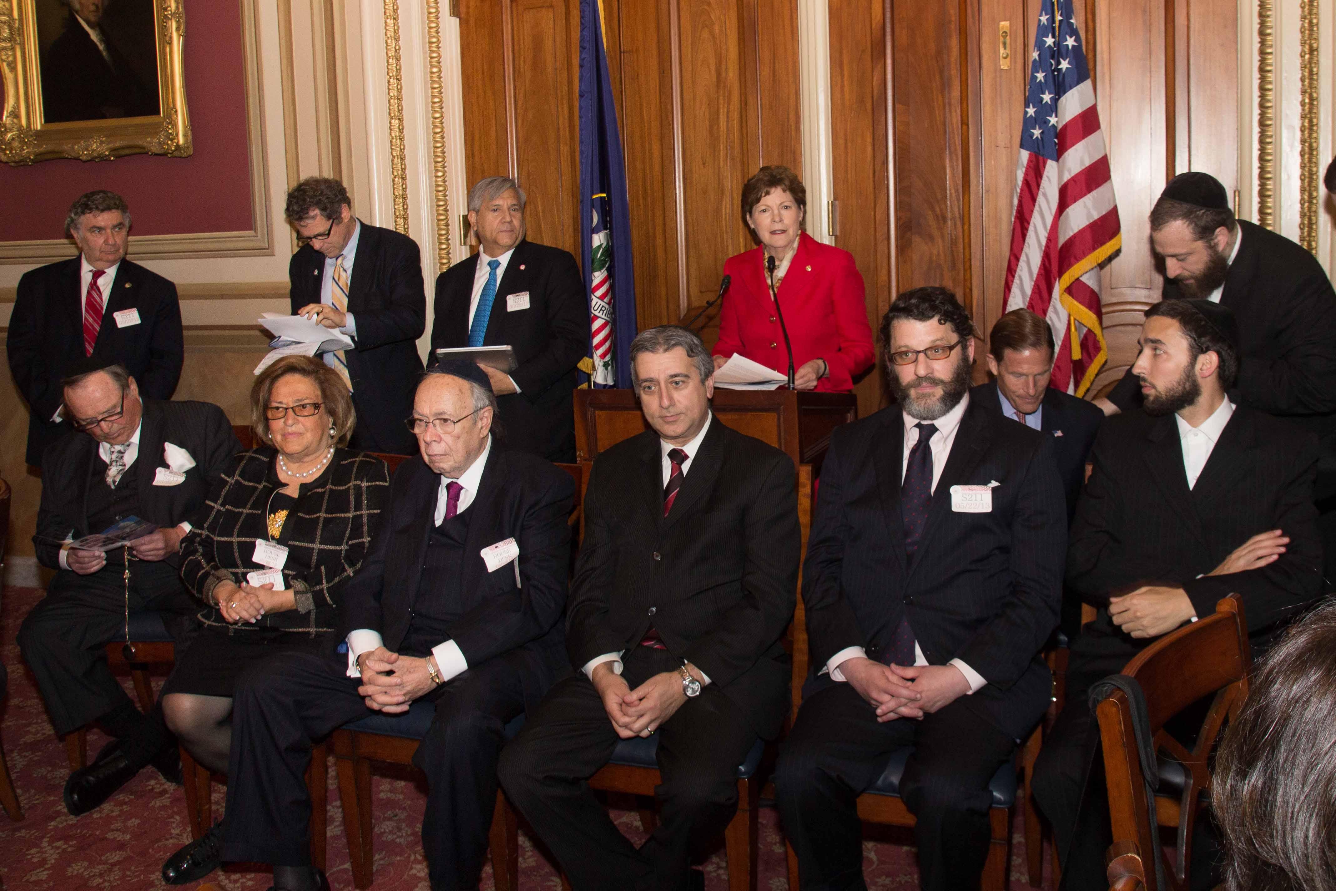 Senator Jeanne Shaheen speaking