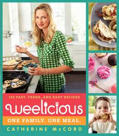 Cookbook author and founder of Weelicious.com, Catherine McCord,encourages families to cook healthy, wholesome and tasty meals together.