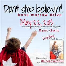 Ralph Oats hosts bone marrow drive on May 22nd. Stop in and save a life!