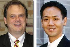 Houston Bariatric Surgeons Terry Scarborough, MD, FACS and Sherman C. Yu, MD, FACS