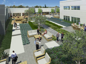 THE Campus Breaks Ground With Next Generation Work Environment