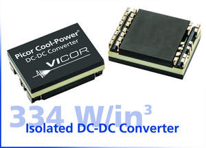 Vicor's Picor Cool-Power PI31xx isolated DC-DC converters