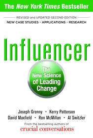 The New York Times best-seller 'Influencer: The New Science of Leading Change.'