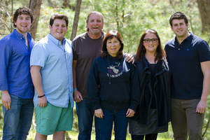 The Lerman family, Camp Caribou owners & operators