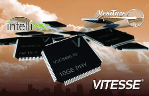 Vitesse GE & 10GE PHYs for network-wide L2 MACsec security encryption