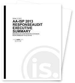 AA-ISP Lead Response Study